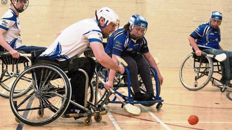 Six new Wheelchairs for Connacht Wheelchair Hurling Team