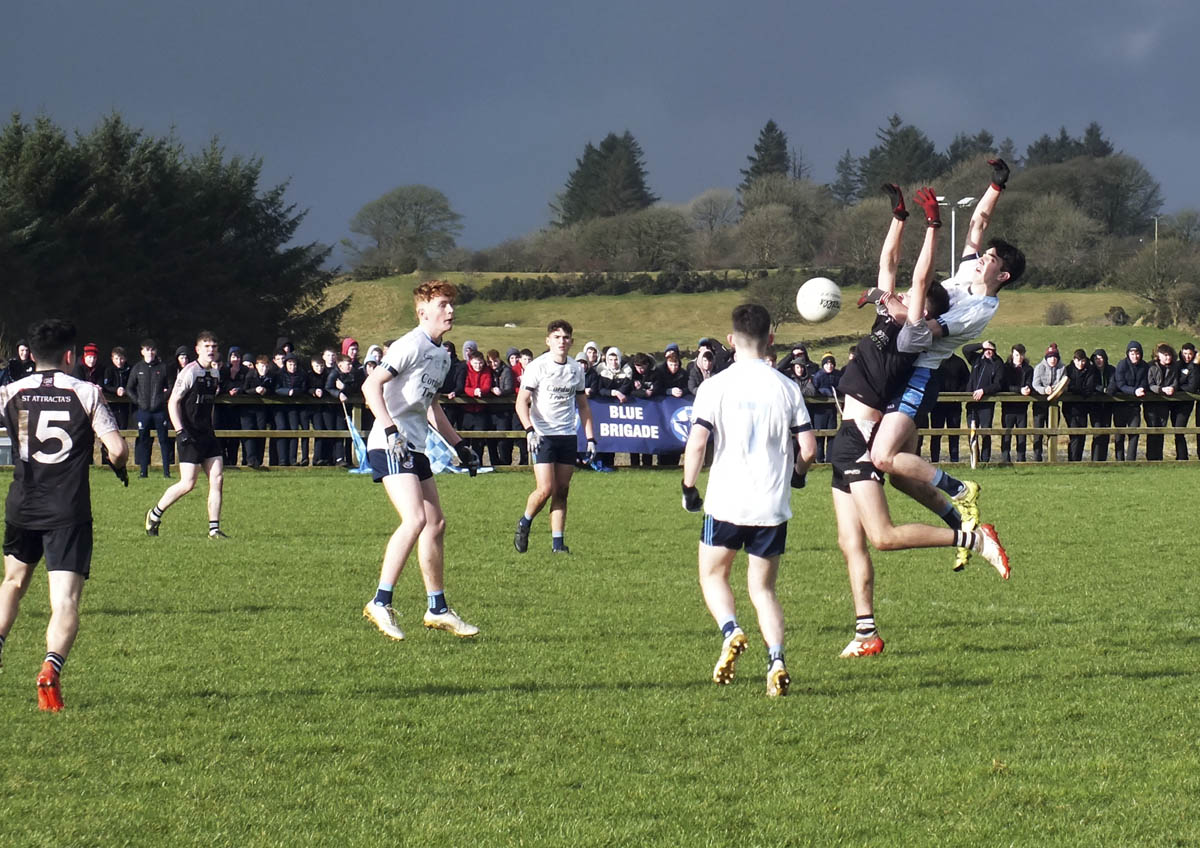 CONNACHT COLLEGES SENIOR A FOOTBALL FINAL: RICE COLLEGE V ST ATTRACTA'S