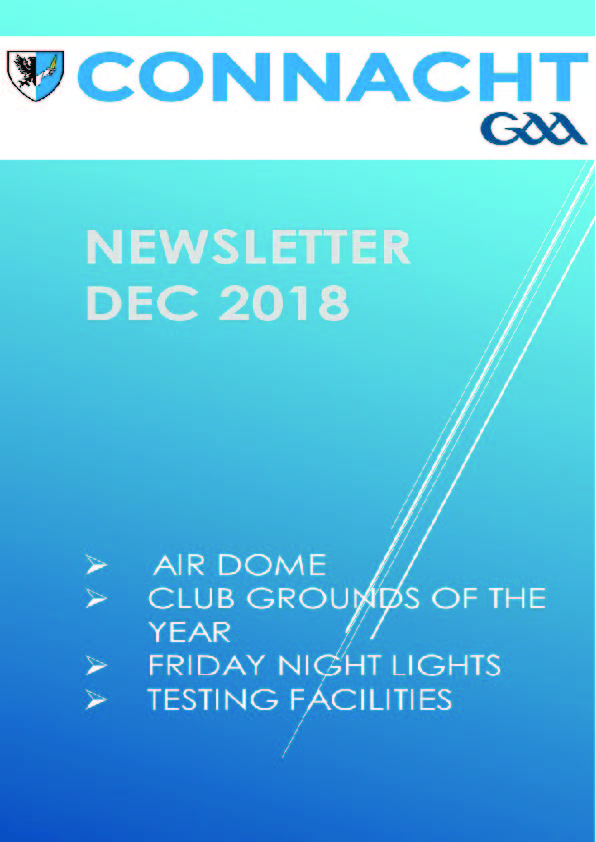 Connacht GAA Newsletter for December