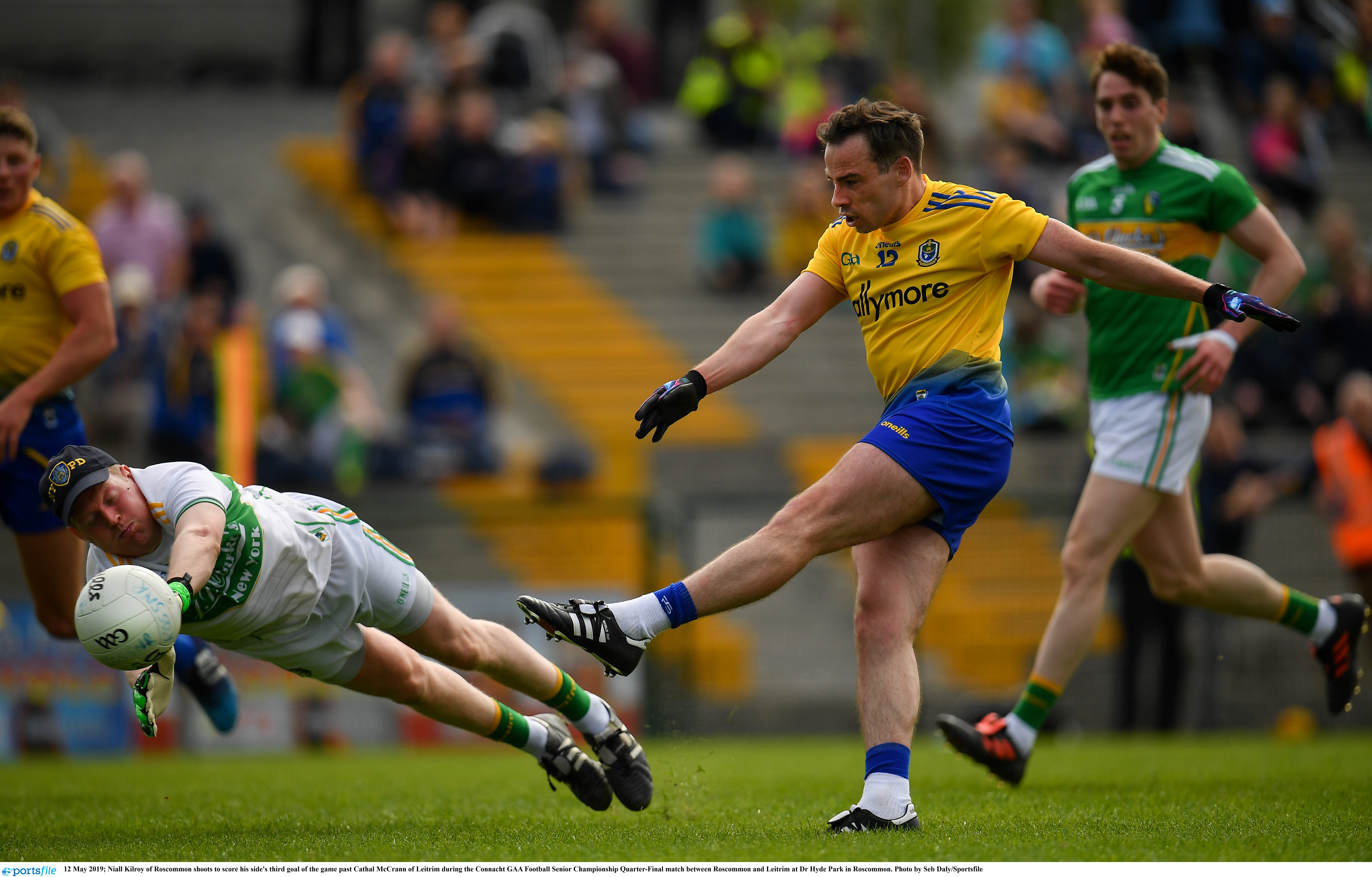 Roscommon Easily Defeat Leitrim to set up Mayo Showdown