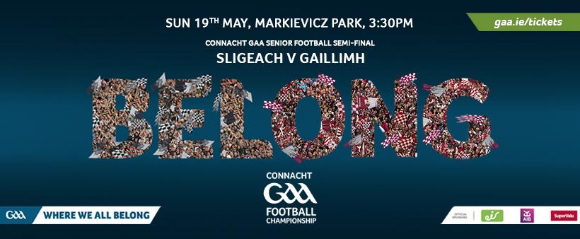 Sligo V Galway Ticketing Information