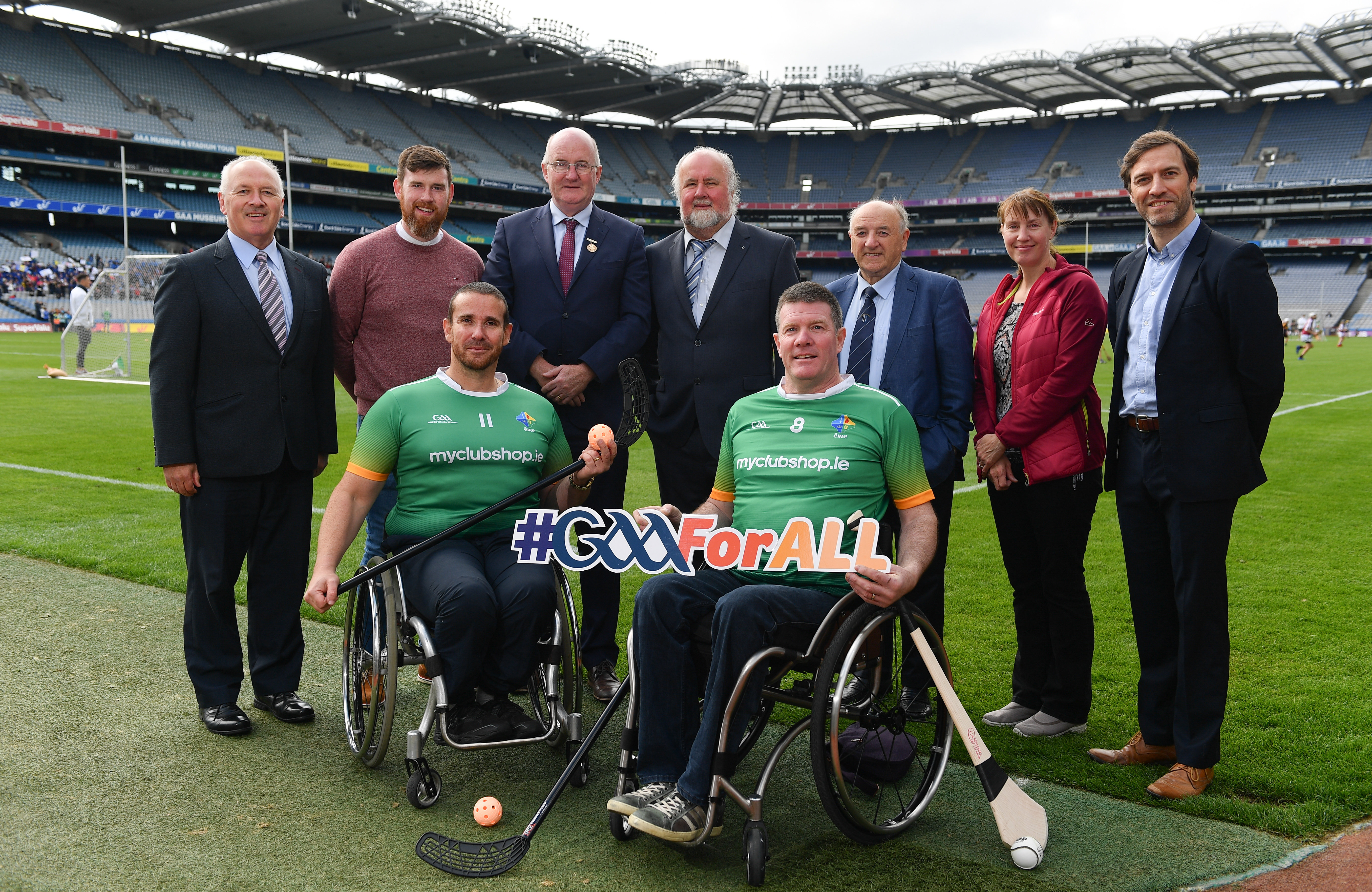 Pat Carty to Captain Ireland Wheelchair Hurling Squad
