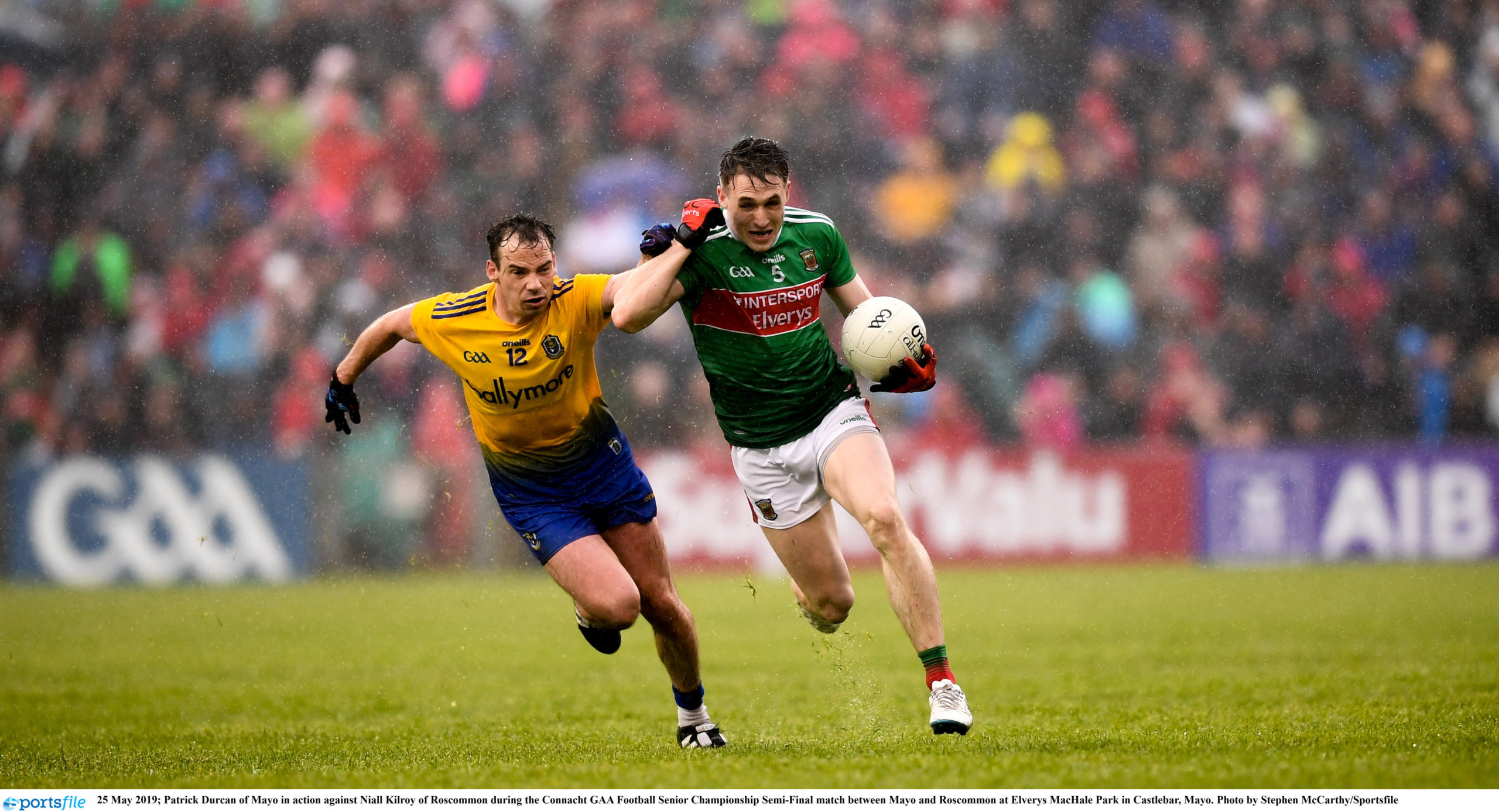 Roscommon and Mayo Name Teams for Connacht SFC Semi Final