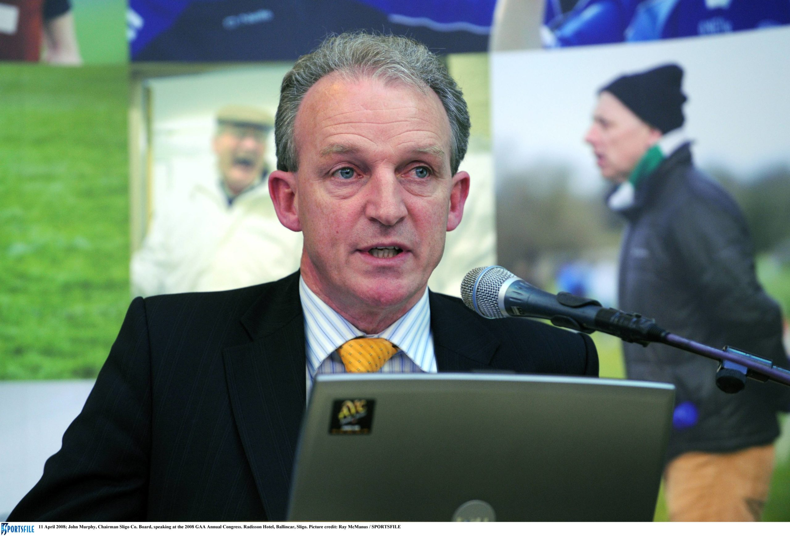 New Connacht Council President John Murphy Makes Address to 2021 Connacht GAA Convention