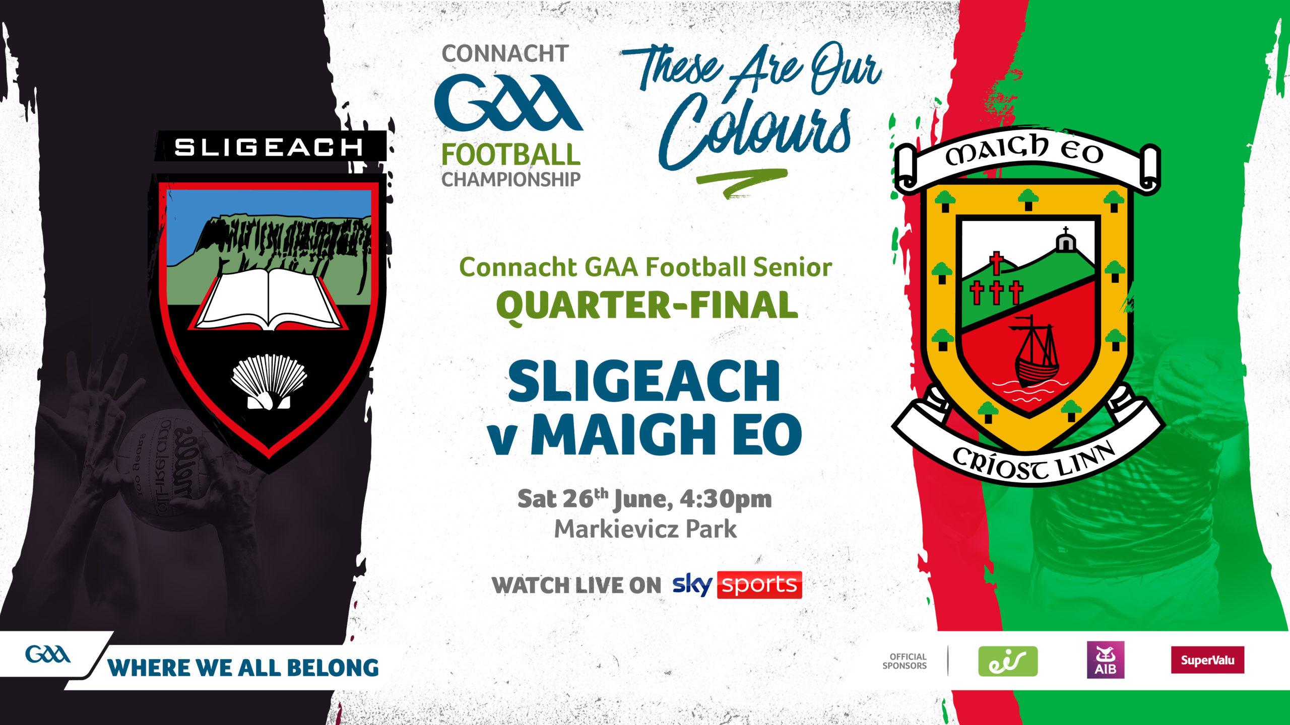 Connacht Championship 2021 Gets Underway This Weekend!