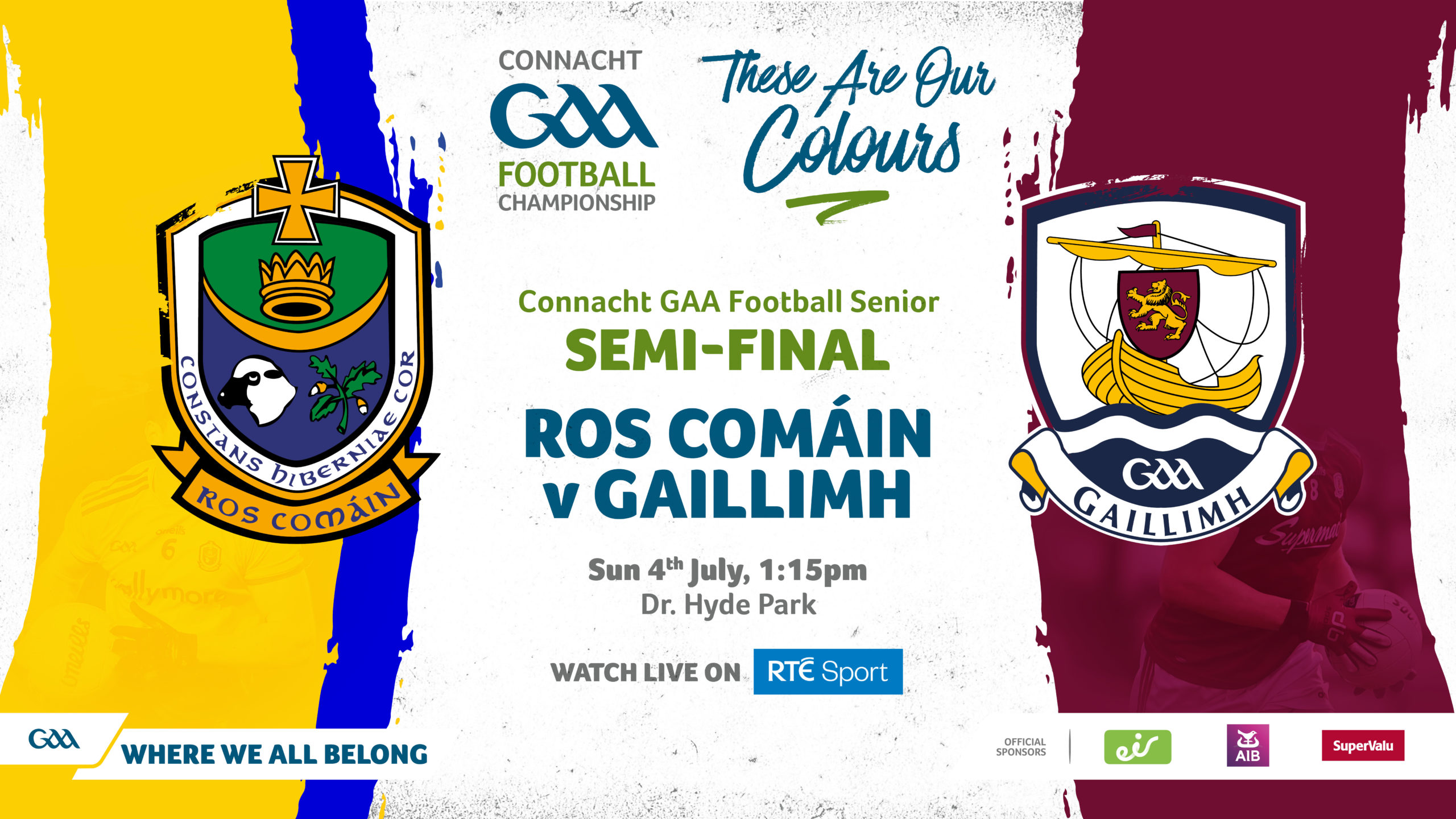 Roscommon and Galway Teams Named for Connacht Semi Final